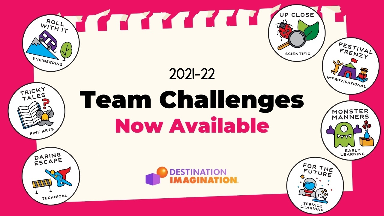 2021-22 Team Challenges Now Available