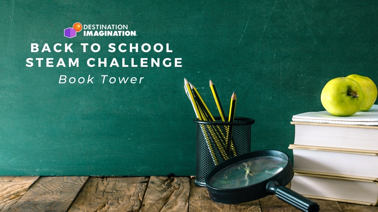 Back To School STEAM: Book Tower Challenge