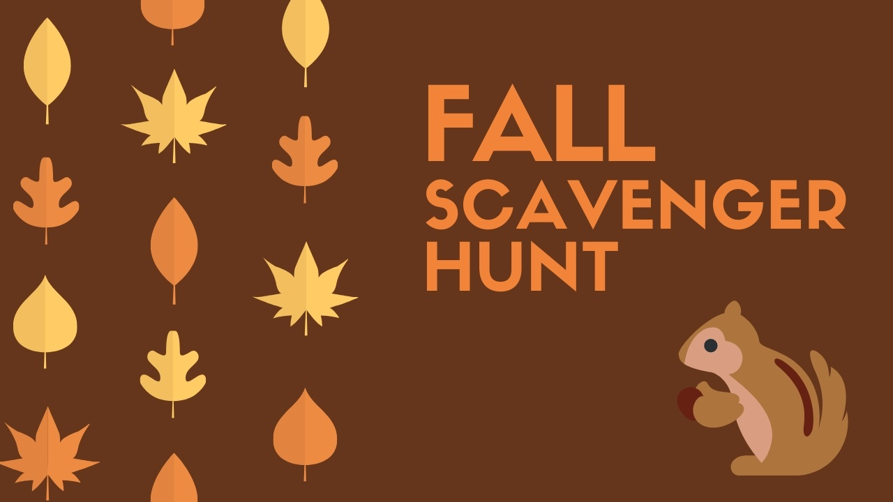 Fall Scavenger Hunt for Kids