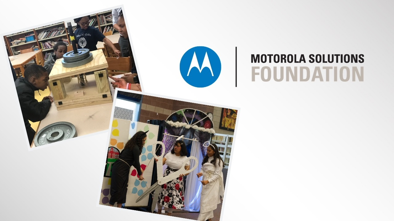 Thank You to Motorola Solutions Foundation!
