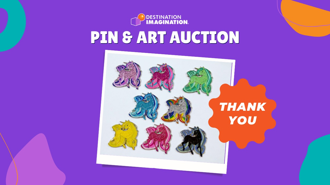 Thank you for supporting the Pin & Art Auction