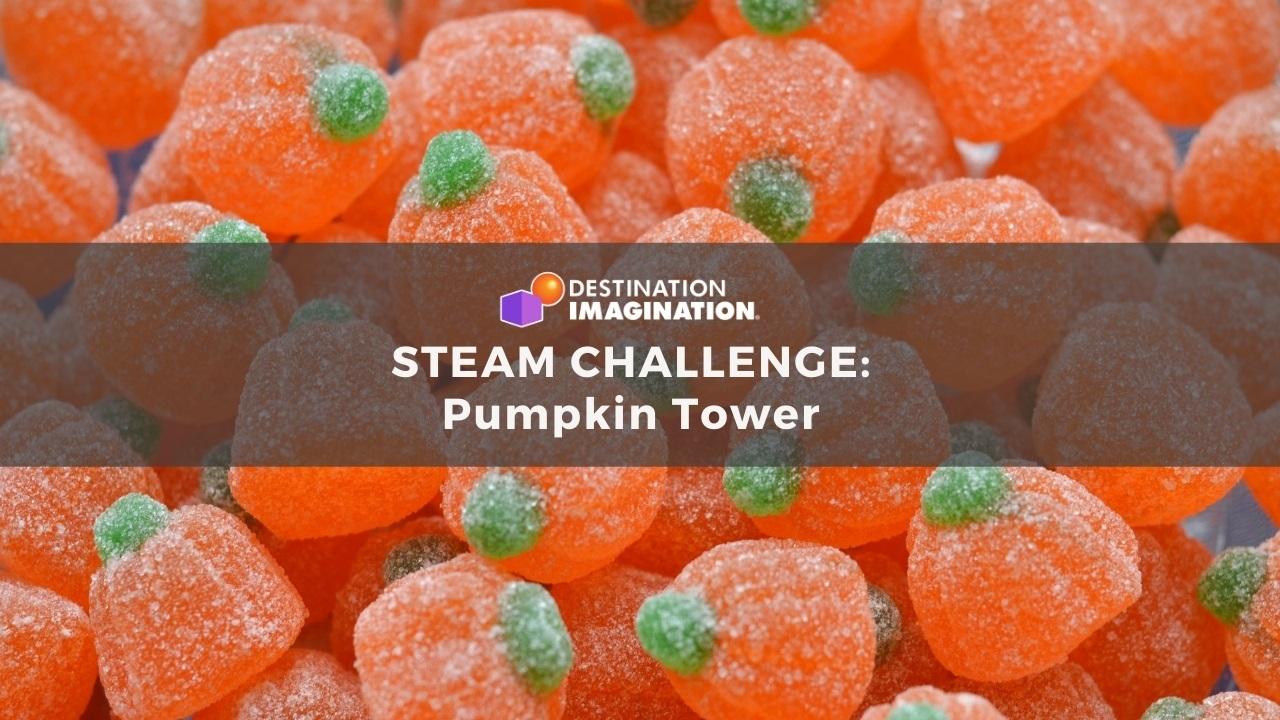 Pumpkin Tower STEAM Challenge for Kids