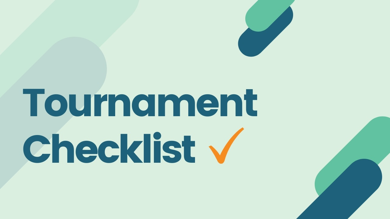 Tournament Checklist for DI Teams