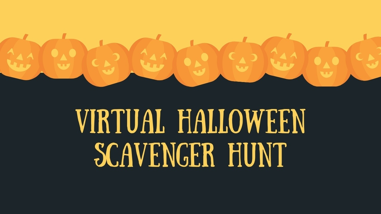 Virtual Halloween Scavenger Hunt