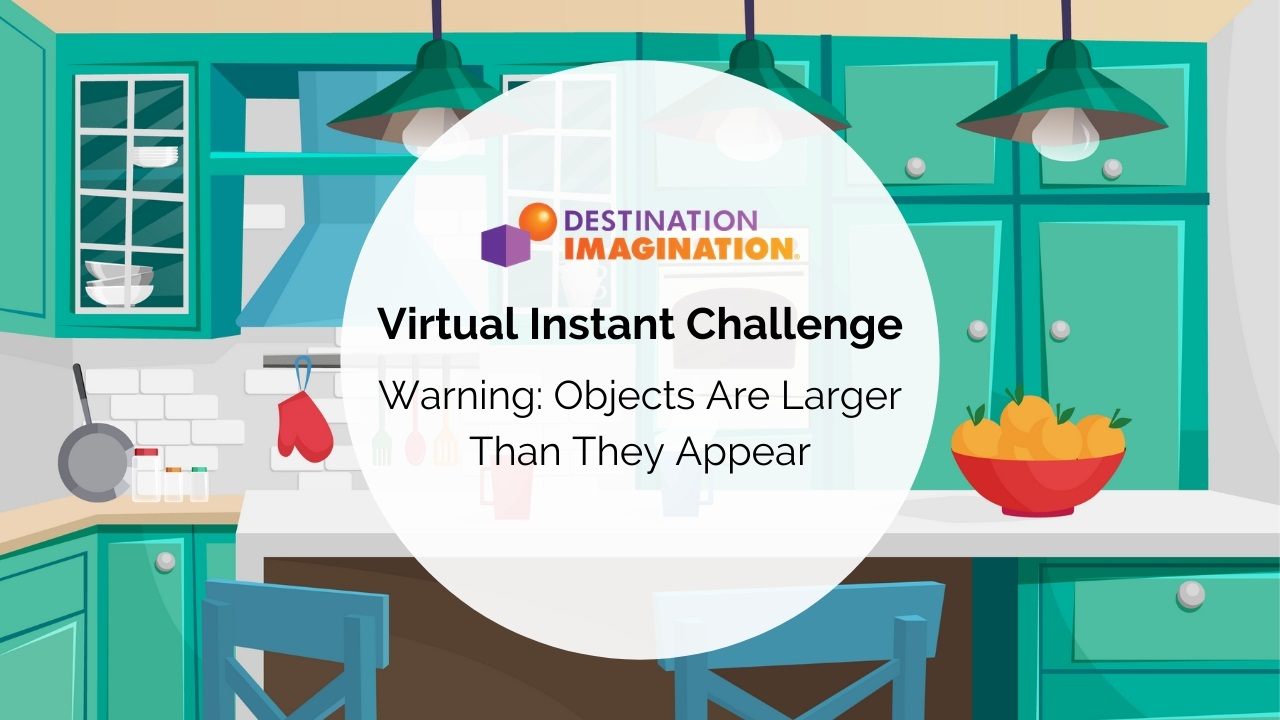 Virtual Instant Challenge: Objects Are Larger Than They Appear